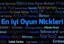 En İyi Oyun Nickler Listesi – Erkek ve Kız Nickleri